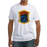 USS MIAMI Fitted T-Shirt
