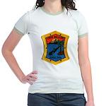 USS MIAMI Jr. Ringer T-Shirt