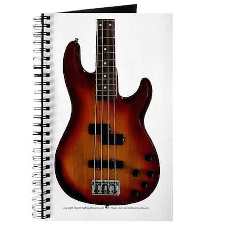 """""""Darkness"""" Bass Guitar Journal"""