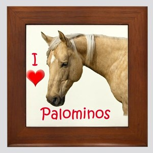 Palomino Framed Tile
