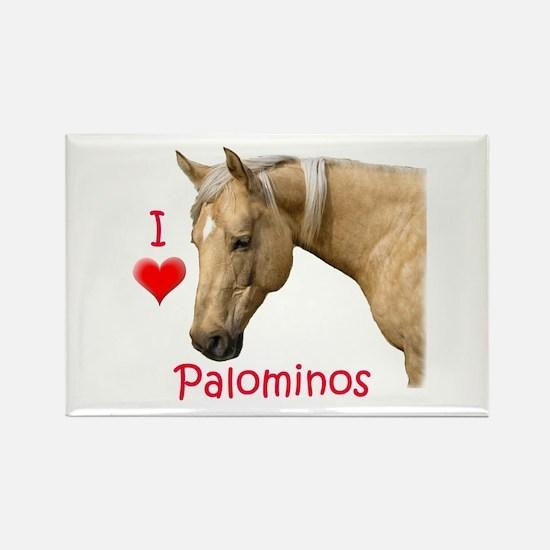 Palomino Rectangle Magnet