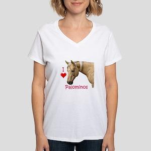 Palomino Women's V-Neck T-Shirt