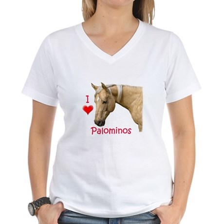 Palomino Women's V-Neck T-Shirt