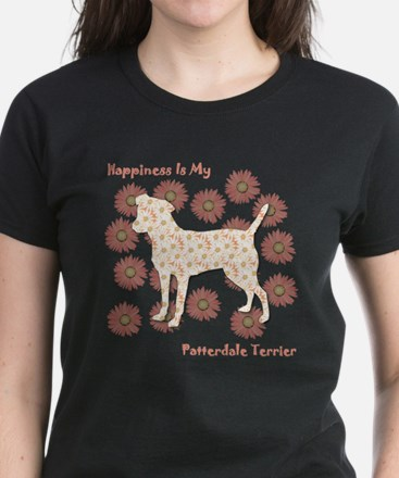 Patterdale Happiness Women's Dark T-Shirt