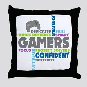 Gamers Throw Pillow