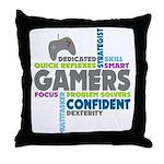 Gamers Throw Pillow