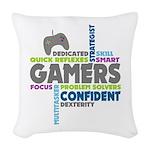 Gamers Woven Throw Pillow