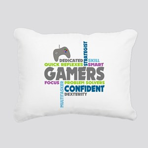 Gamers Rectangular Canvas Pillow