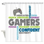 Gamers Shower Curtain