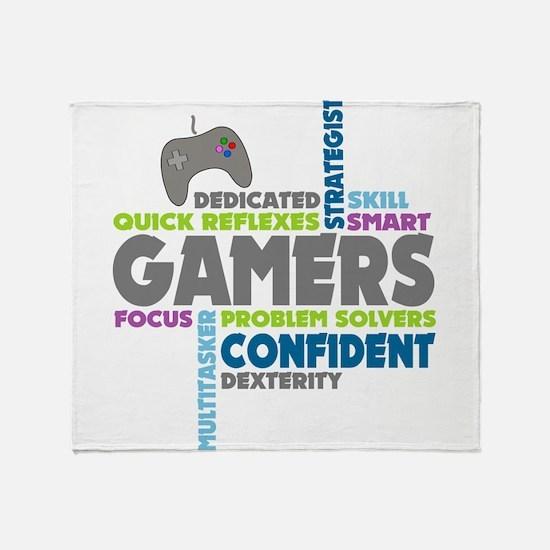 Gamers Throw Blanket