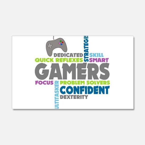Gamers Wall Decal