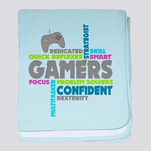 Gamers baby blanket