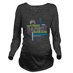 Gamers Long Sleeve Maternity T-Shirt