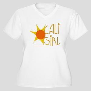 Cali Girl Women's Plus Size V-Neck