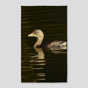 Pied-billed Grebe 3'x5' Area Rug