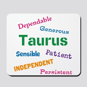 Taurus Traits And Characteristics Mousepad