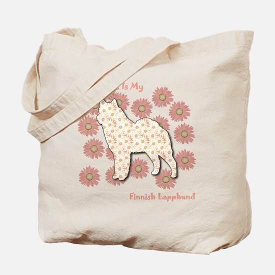 Lapphund Happiness Tote Bag