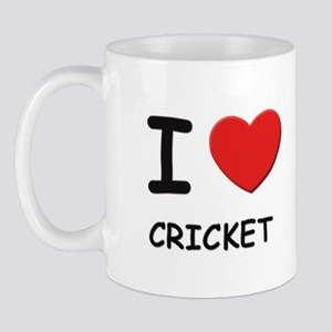 I love cricket  Mug