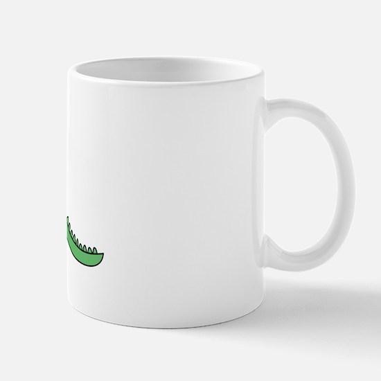 Alligator Chase Mug