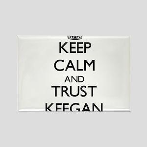 Keep Calm and TRUST Keegan Magnets