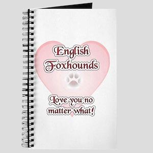 English Fox Love U Journal
