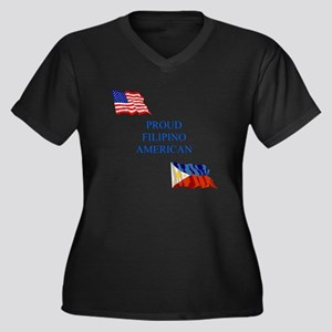 Proud Filipino #1 Gifts Women's Plus Size V-Neck D