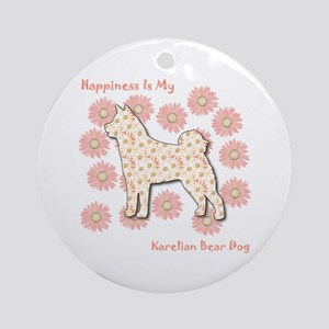 Karelian Happiness Ornament (Round)