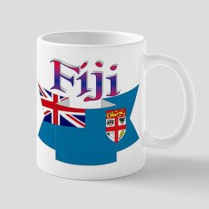 Fiji flag ribbon Mug