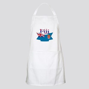 Fiji flag ribbon BBQ Apron