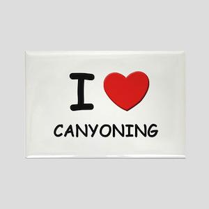 I love canyoning Rectangle Magnet