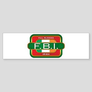 Full Blooded Irish Bumper Sticker