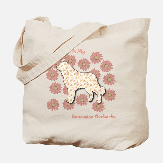 Caucasian Happiness Tote Bag