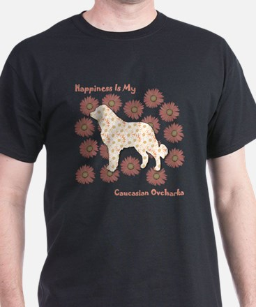 Caucasian Happiness T-Shirt