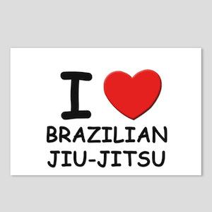 I love brazilian jiu-jitsu  Postcards (Package of