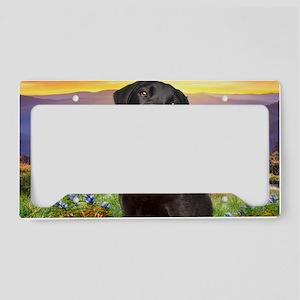 Labrador Meadow (carmag) License Plate Holder