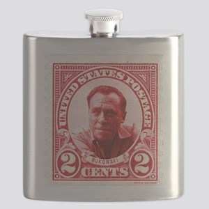 Bukowski 2 Cents US Postal Red Flask