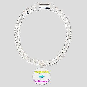 Property Of Mckenzie Female Charm Bracelet, One Ch