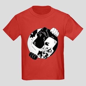 N Blk/H YY Kids Dark T-Shirt