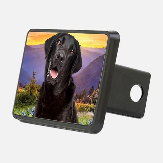 Labrador Meadow (button) Hitch Cover