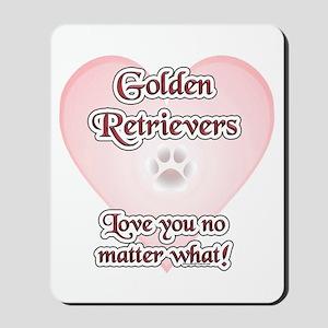 Golden Love U Mousepad