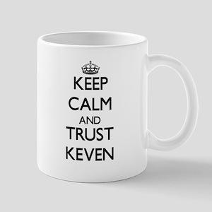 Keep Calm and TRUST Keven Mugs