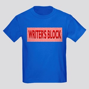Writer's Block Kids Blue T-Shirt