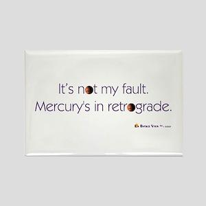 Mercury's in Retrograde Rectangle Magnet