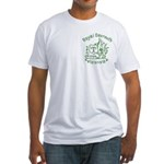 Fitted T-Shirt Green Logo