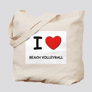 I love beach volleyball Tote Bag