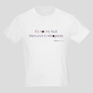 Mercury's in Retrograde Kids Light T-Shirt