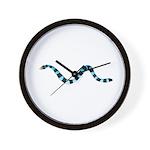 Blue Lipped Sea Krait Snake Wall Clock
