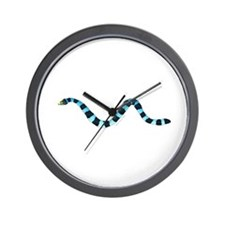 Blue Lipped Sea Krait Snake Wall Clock