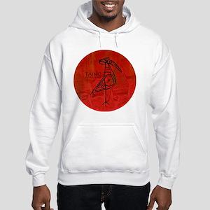 Taino Bird, Puerto Rico Hooded Sweatshirt