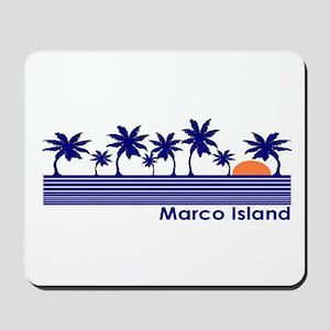 Marco Island, Florida Mousepad